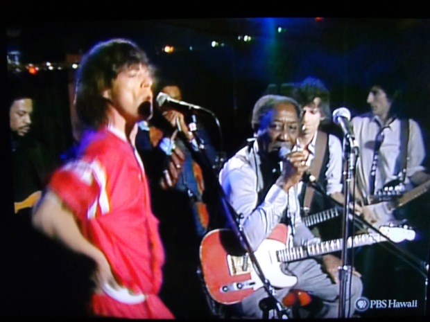 Rolling Stones and Muddy Waters