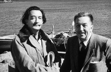 Salvador Dali e Walt Disney